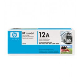 Toner cartridge HP Q2612A, LASERJET 1010, 3015, 3052, czarny; Bk/2000 kopii