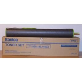 Toner Konica Minolta - Konica 150, 1550, czarny; SUPER CENA (wyprzedaż - ważne do wyczerpania zapasów)