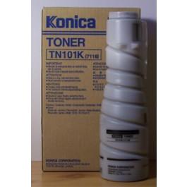 Toner Konica Minolta - Konica Typ TN101K, 7115, czarny; przestarzałe/wycofane z produkcji