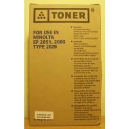 Toner Konica Minolta Typ MT 202 B, EP 2051, czarny; 2x360g; SUPER CENA (wyprzedaż - ważne do wyczerpania zapasów)