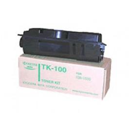 Toner Kyocera Mita Typ TK 100, KM 1500, czarny; Bk/6000 kopii