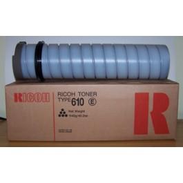 Toner Ricoh Typ 610E, FT 6645, 6665, czarny; 1x1140g