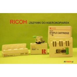 Zszywki Ricoh 410802, (STAPLE REFILL TYPE K), SR760, SR860, Aficio 1035, CL7000, Typ K; (komplet = 3 szt. / cena za kpl.); DOBRA CENA