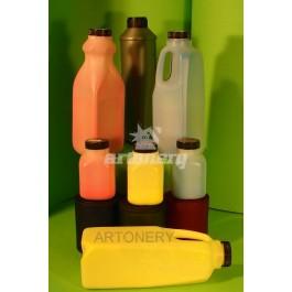 Toner Oki Typ C 2, C 7000, C 7200, niebieski, czerwony lub żółty, butelka 375g