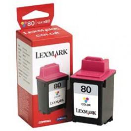 Cartridge z atramentem Lexmark 80, 3200, 7000, kolor; SUPER CENA (wyprzedaż - ważne do wyczerpania zapasów)