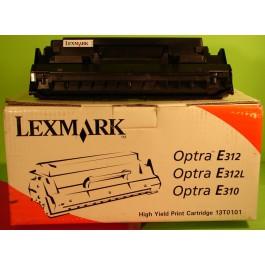 Toner cartridge Lexmark 13T0101, OPTRA E 310, 312L, czarny; Bk/6000 kopii; SUPER CENA (wyprzedaż - ważne do wyczerpania zapasów)