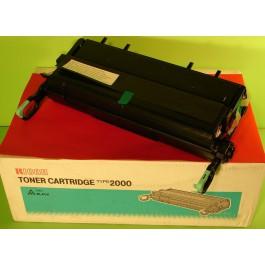 Toner cartridge (toner + bęben) Ricoh Typ 2000, Aficio AP 2000, AP2100, (w Nashuatec P7020), czarny; 14 000 kopii; SUPER CENA (wyprzedaż - ważne do wyczerpania zapasów)