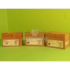 Toner Ricoh Typ P1 /  P2, Ricoh 884901 / NRG DSC328 / Lanier LD232C, (w Ricoh), Yellow, 10 000 kopii; DOBRA CENA