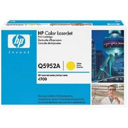 TONER CARTRIDGE HP Color LaserJet 4700, żółty; 10 000 kopii