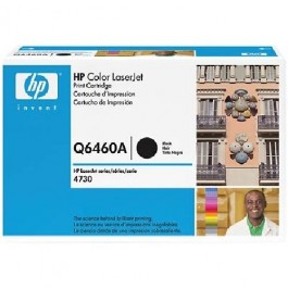 Toner cartridge HP Q6460A, COLOR LASERJET 4730, czarny, Bk/12 000 kopii